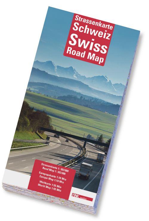 Strassenkarte Schweiz